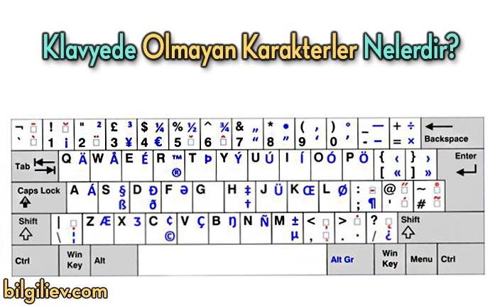 klavyede-bulunmayan-karakterler